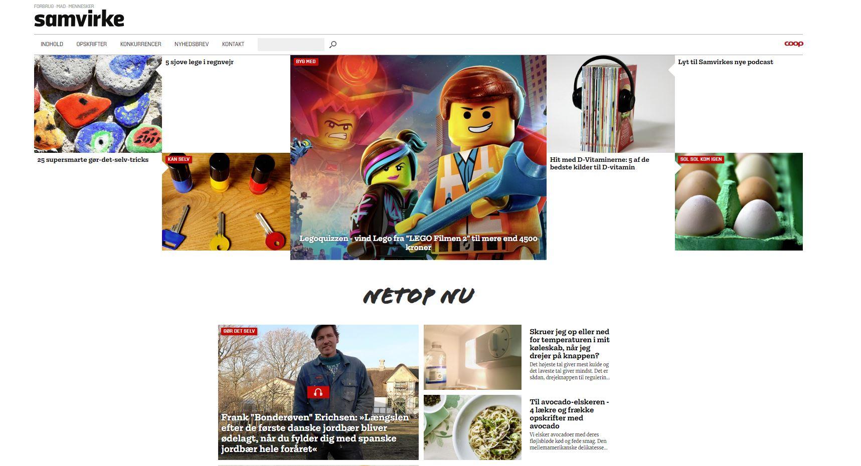 Samvirke – Digitale platforme