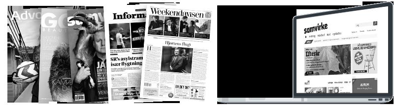 Trykte- og digitale medier